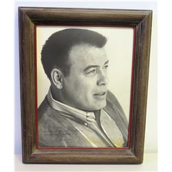 Frank Sutton Authographed Photo to Jim Nabors