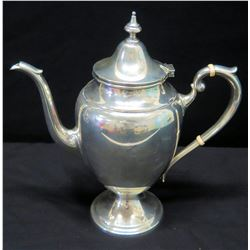 "Teapot Bearing the Marking ""Gorham Sterling 2 3/4 Pint Reinforced Handle"""