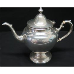 "Teapot Bearing the Marking ""Gorham Sterling 2 1/2 Pint Reinforced Handle"""