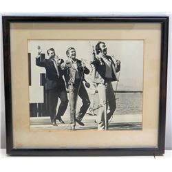Framed Autographed Photograph of Ronald Reagan (with Jim Nabors) 1982