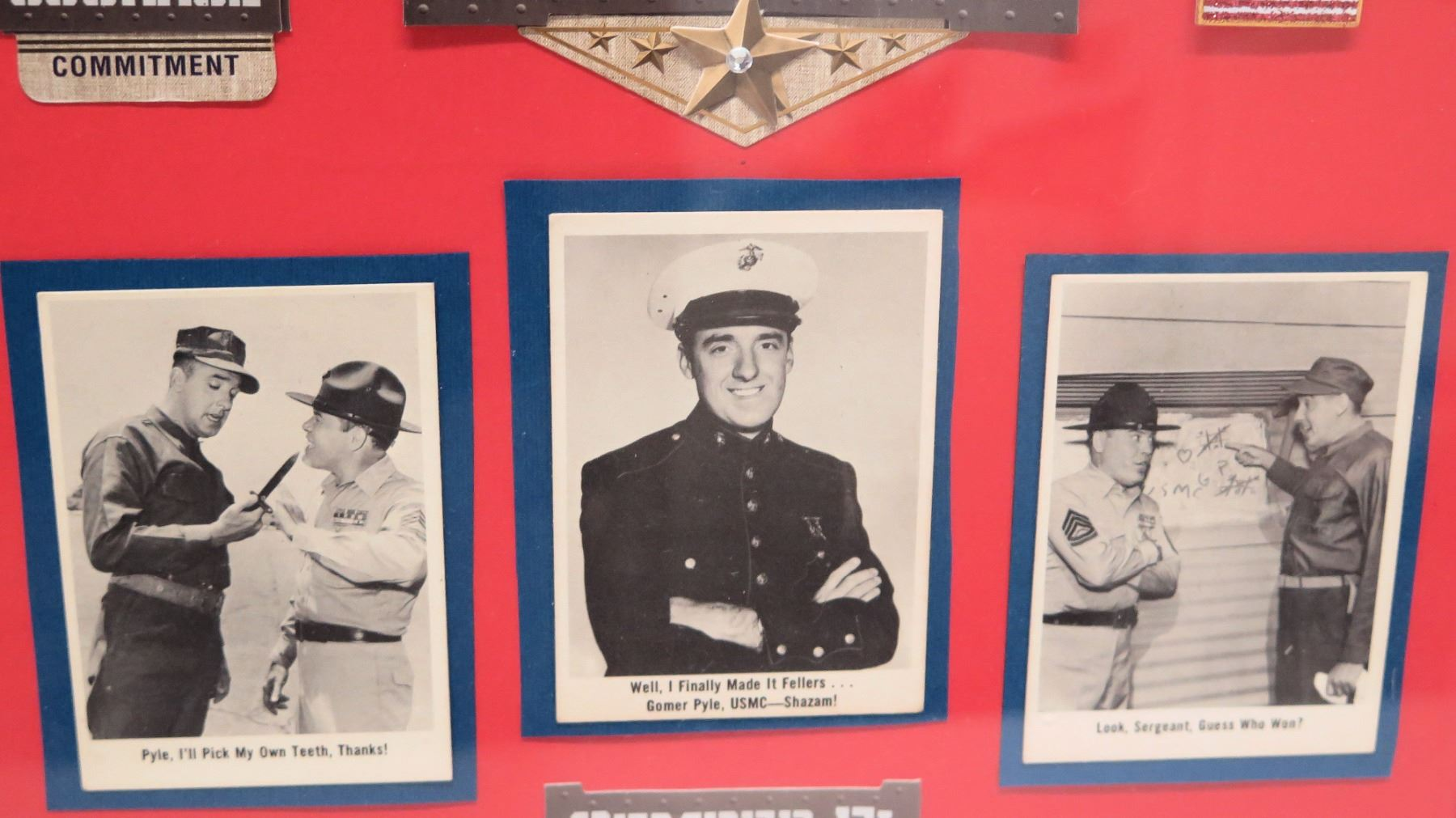 Gomer Pyle USMC Commitment Collage - Oahu Auctions