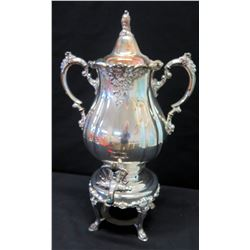 """Hot Beverage Dispenser - """"Baroque"""" by Wallace, 17"""" H"""