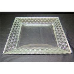 Tiffany & Co. Crystal Dish w/ Border Accent