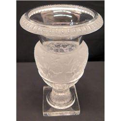 """Lalique France Versailles Grapevines Vase 14"""" H"""