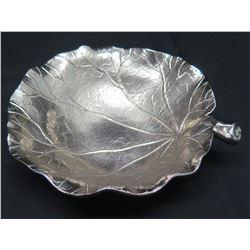"Michael Aram Decorative Gingko Leaf Tray, Approx. 6"" Dia"