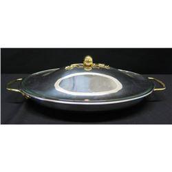 Oneida Serving Platter w/ Lid & Handles