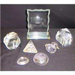 Misc. Glass Objets d'Art