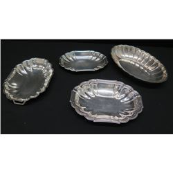 Qty 4 Misc. Serving Platters