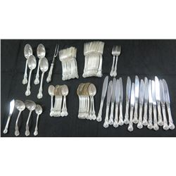 Towle Flatware Set, Sterling Handles, Stainless Blades