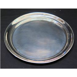 Tiffany & Co. Round Handcrafted Pewter Tray
