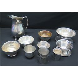 Misc. Serveware: Pitcher, Bowls, Compotes, Cups, Measuring Utensil