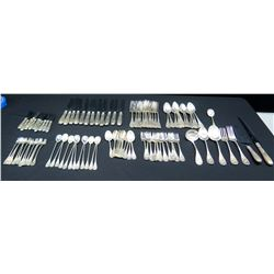 Tiffany & Co. Flatware and Cutlery Set, Marked 'Tiffany & Co. Sterling'