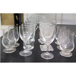Misc. Stemmed Beverage Glasses