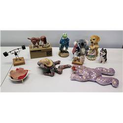 Misc. Animal Figurines, Travel Memorabilia, etc.