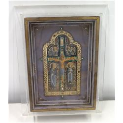 Framed Religious Art with Gilt Embellishments