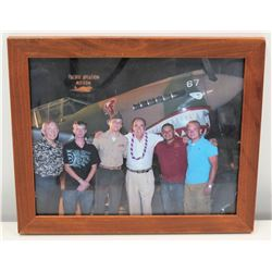 Framed Jim Nabors Pacific Aviation Museum