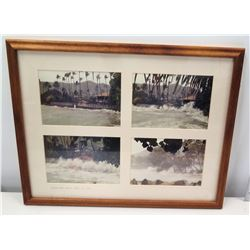 Photographs of Jim Nabors Home Hurricane Iniki, 1992