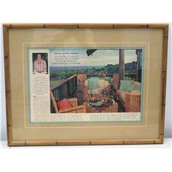 Framed Story, House Beautiful Magazine, Jim Nabors Maui Home