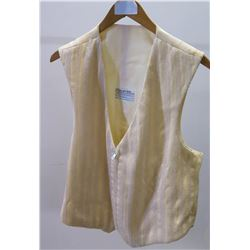 Ivory Beaded Vest, Stage Costume Worn by Jim Nabors