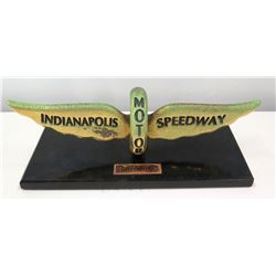 Large Indianapolis Motor Speedway Plaque, Presented to Jim Nabors