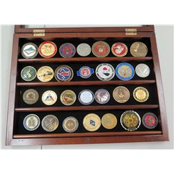 Qty 28 Military, Armed Forces & Misc. Commemorative Medals