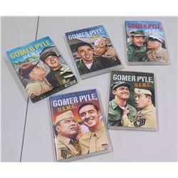 Qty 5 DVDs, Gomer Pyle USMC