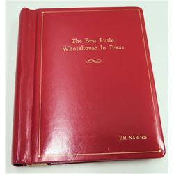 Original Screenplay 'The Best Little Whorehouse in Texas', Universal City Studios 1981
