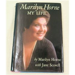 Marilyn Horne Autobiography, Presented to Jim Nabors by Jackie
