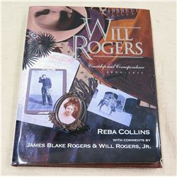 Will Rogers 'Courtship & Correspondence' Signed by Author Reba Collins