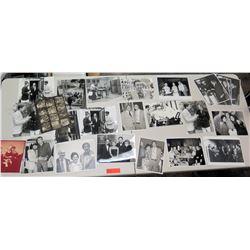 "Misc. Jim Nabors Black & White Photographs 27"" H"