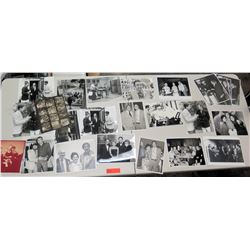 "Misc. Jim Nabors Black & White Photographs 27"" H"