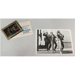 Photograph of Jim Nabors w/ Ronald Reagan w/ Negative
