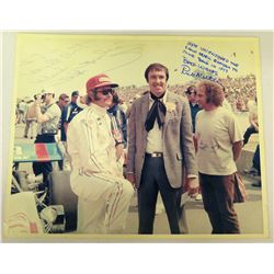 Autographed Photograph w/ Jim Nabors (to Jim)