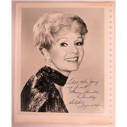 Debbie Reynolds Autographed Photograph to Jim Nabors