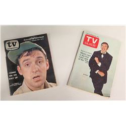 Qty 2 TV Guides w/ Jim Nabors on Cover