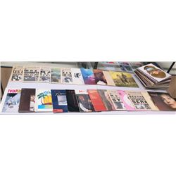 Autographed Vinyl LP Albums - Tom Netherton, Barbara Streisand, etc