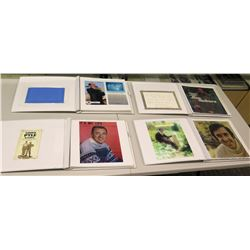 Qty 4 Jim Nabors Scrapbooks w/ Photocopied Photos, Newspaper Clippings, etc