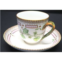 Royal Copenhagen Flora Danica Teacup & Saucer, Denmark (20 of 3597)