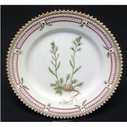 "Royal Copenhagen Flora Danica Small Plate 5.75"" Dia. (20 of 3552)"