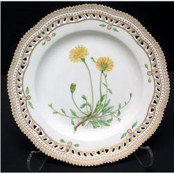 "Royal Copenhagen Flora Danica Plate 10"" Dia. (20 of 3553)"