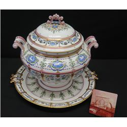 Imperial Tureen from 'The Gold Room' (as shown in photograph 1978), Ltd. Ed. 4 of 50, Replica of the