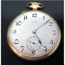 Elgin Pocketwatch (Glass Face Cover Missing)
