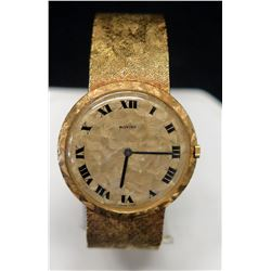 "Moviga Wristwatch, Engraved ""Jim, Love Always Carol and Joe 12.25.67"", Marked YG 3985 on Back"