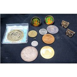 Misc. Memorabilia Coins, Pins