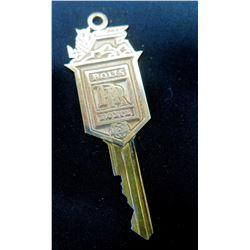 Rolls Royce Key, Engraved 'To Uncle Jim, Love Carrie, Jody, Erin' (gifted to Jim by Carol Burnett)