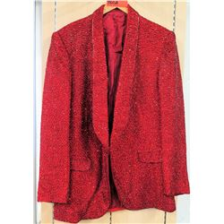 Red Beaded Cotroneo Suit Jacket Costume Worn by Jim Nabors