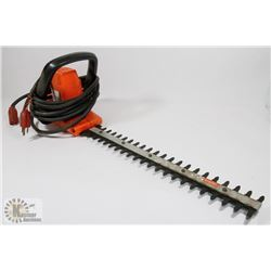 "BLACK AND DECKER 10"" SCHRUB & HEDGE TRIMMER."