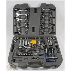 MASTERCRAFT TOOL SET IN CASE, COMPLETENESS