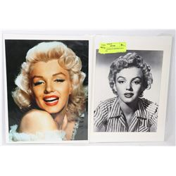 LOT OF 2 MARILYN MONROE 8X10 PICTURES