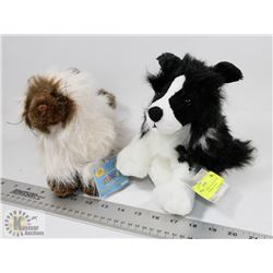 WEBKINZ BORDER COLLIE PLUSH (HM413) WITH HIMALAYAN
